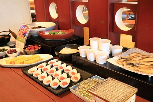宮城県産米に合う和食も充実