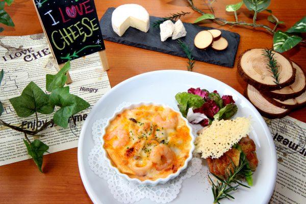 寒い冬に食べたいチーズランチは1月下旬限定!